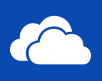 The icon of Microsoft OneDrive
